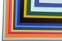 polypropeen folie set van diverse dekkende kleuren