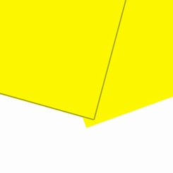 Solanyl yellow sheet bioplastic