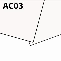 Solanyl white sheets bioplastic