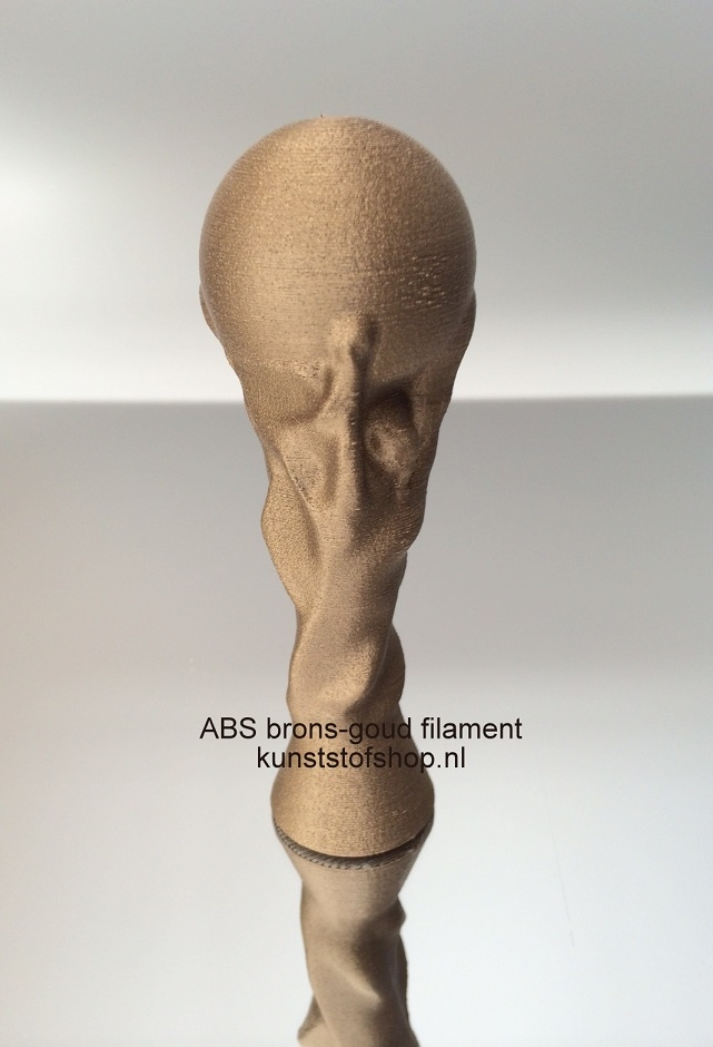 3D Print Filament XS 2Design PLA brons-goud