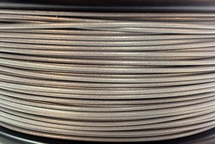3D Print Filament XS 2Design PLA zilvergrijs-metallic look