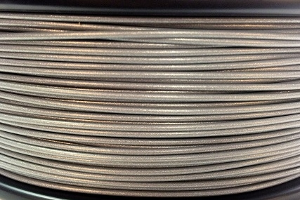 3D Print Filament XS 2Design PLA zilvergrijs-metallic look