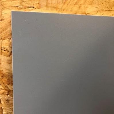bio pe sheet grey ral 7042