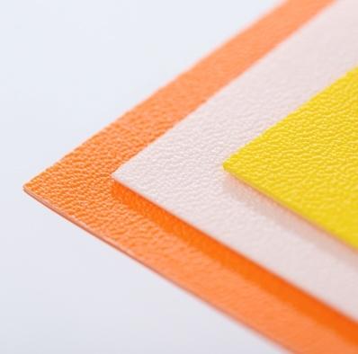 Terranyl orange sheet bioplastic