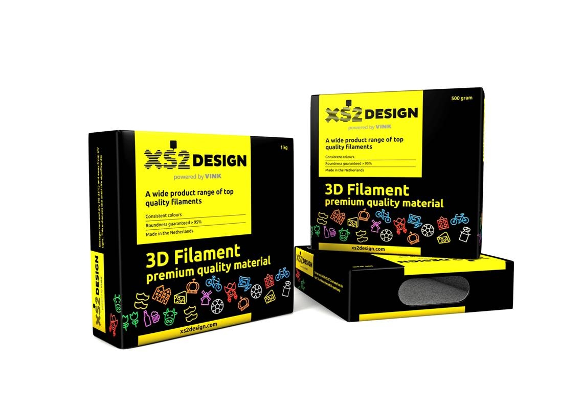 PLA XS2Design filamenten